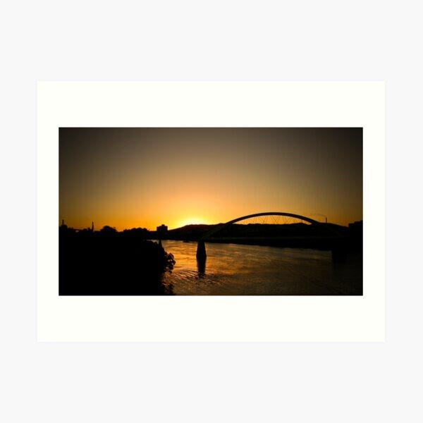 Merivale Bridge Art Print