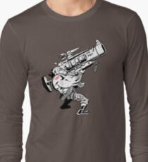 Badass Bazooka Long Sleeve T-Shirt
