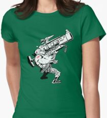 Badass Bazooka Womens Fitted T-Shirt