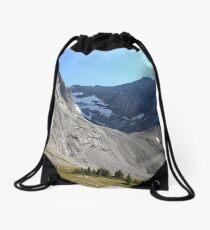 Green oasis Drawstring Bag