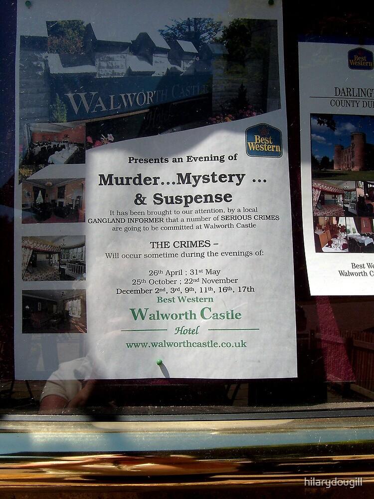 Murder Mystery Night at Walworth by hilarydougill