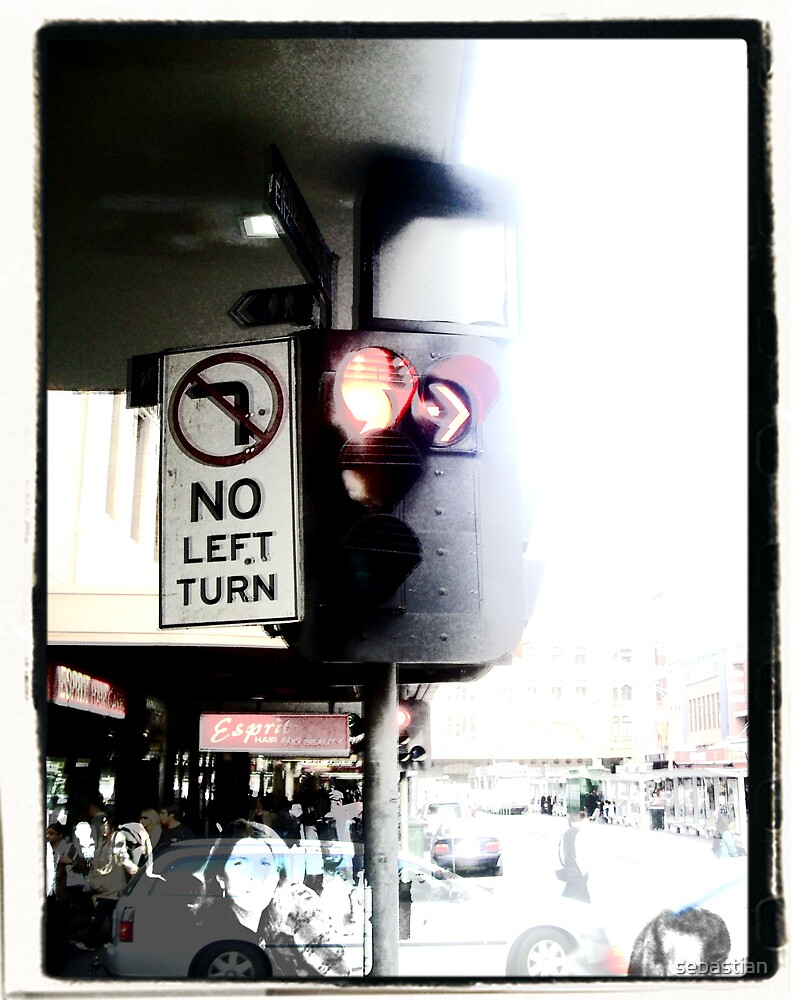 No left turn by sebastian