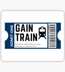 Gain Train Sticker