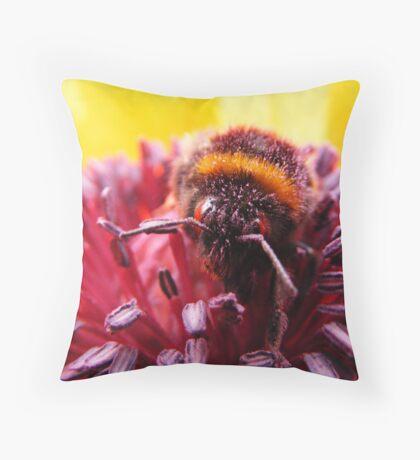 Pollen Thief Throw Pillow
