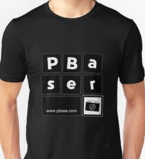 Pbaser (B&W square) Unisex T-Shirt