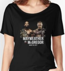 Mayweather vs. McGregor Women's Relaxed Fit T-Shirt