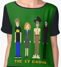 The IT Crowd - Pixels Chiffon Top