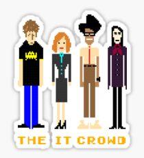 The IT Crowd - Pixels Sticker