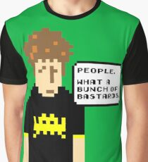 Pixel Roy - The IT Crowd Graphic T-Shirt