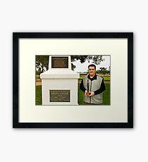 Darren Stones Framed Print