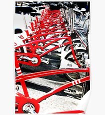 bicycle, bicycle, bicycle Poster