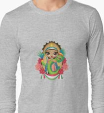 Quetzalcoatl n' Guadalupe Long Sleeve T-Shirt