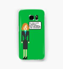Pixel Jen - The IT Crowd Samsung Galaxy Case/Skin