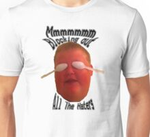 Blocking out the haters Unisex T-Shirt