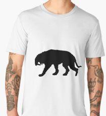 Saber-toothed tiger Men's Premium T-Shirt