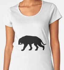 Saber-toothed tiger Women's Premium T-Shirt