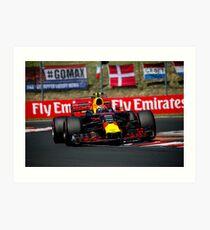 Formula 1 Hungary 2017 Art Print