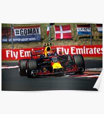 Formel 1 Ungarn 2017 Poster