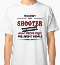 shooter costume, funny hunter, hunting, gift men women t shirt Classic T-Shirt