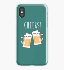 Cheers for peers with beer - Enjoy beer day with your friends iPhone Case/Skin