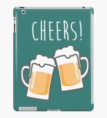 Cheers for peers with beer - Enjoy beer day with your friends iPad Case/Skin