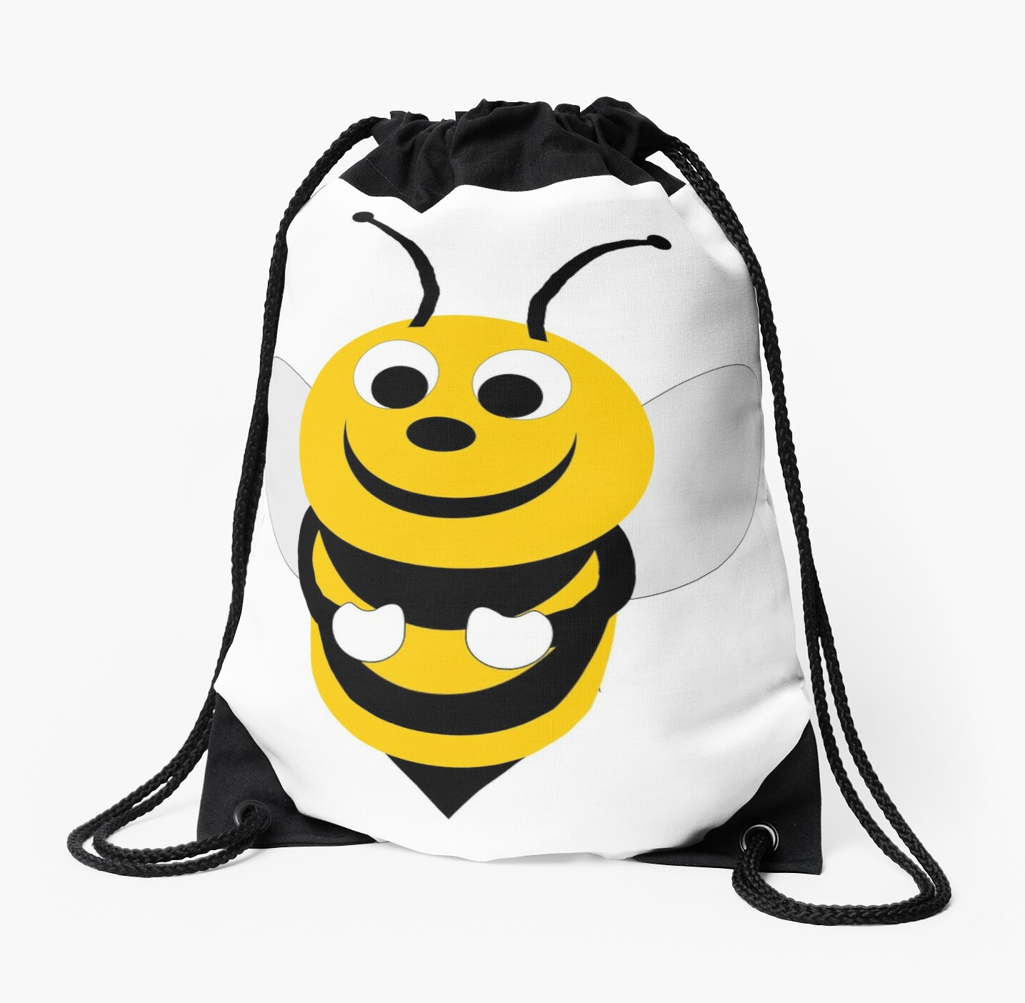 bumble bee design drawstring bags by biglnet redbubble Lots of Bees in a Feild bumble bee design by biglnet