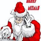 Merry Mixmas Santa Claus DJ  Christmas Party by taiche