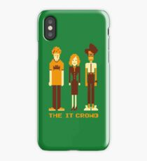 Retro Pixel - The IT Crowd iPhone Case/Skin