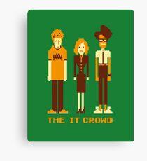 Retro Pixel - The IT Crowd Canvas Print