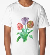 Tulip Trio  Long T-Shirt