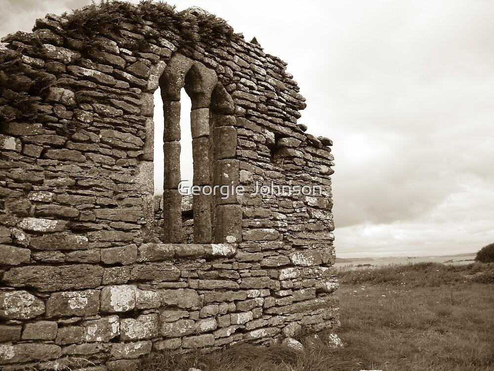Ruins at Hook Head, Ireland by Georgie Johnson