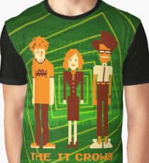 Retro Pixel - The IT Crowd Graphic T-Shirt