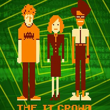 Retro Pixel - The IT Crowd by KY-i