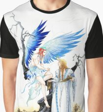 Chinese Parrot and Bai Ze Graphic T-Shirt