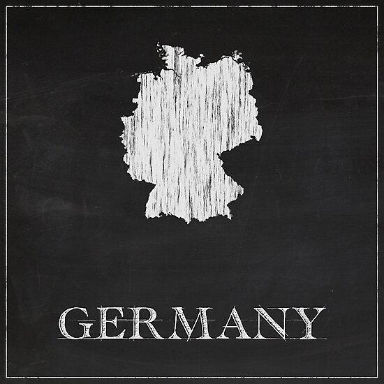 Germany - Chalk  by FinlayMcNevin