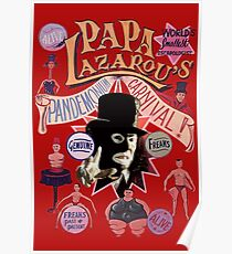 Papa Lazarou's Pandemonium Carnival! Poster