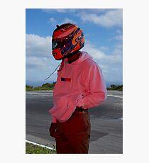 Frank Ocean - Helmet Photographic Print