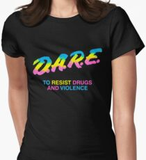 DARE 90s drugs tshirt shirt T-Shirt