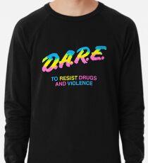 DARE 90s Drogen Tshirt Shirt Leichter Pullover