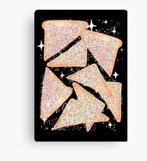 Cosmic Fairy Bread - Original Canvas Print