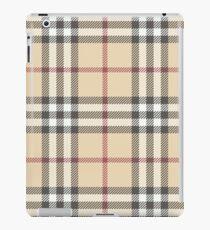 seamless pattern tartan plaid iPad Case/Skin