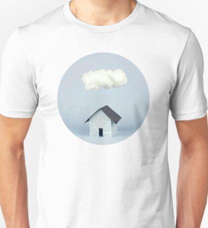Eine Wolke über dem Haus T-Shirt