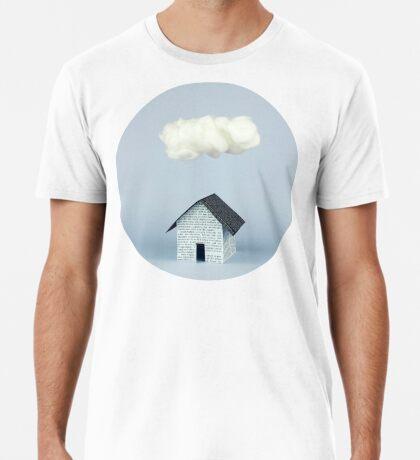 Eine Wolke über dem Haus Premium T-Shirt