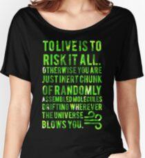 Rick & Morty - Inert chunk  Women's Relaxed Fit T-Shirt