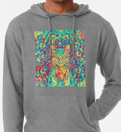 Color Cat Lightweight Hoodie