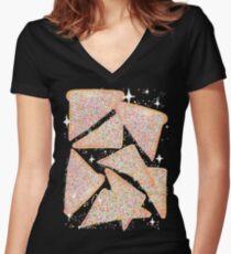 Cosmic Fairy Bread - Original Women's Fitted V-Neck T-Shirt