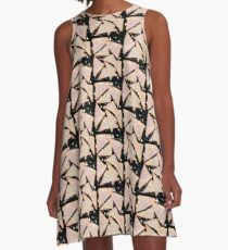Kosmisches Feenbrot - Original A-Linien Kleid