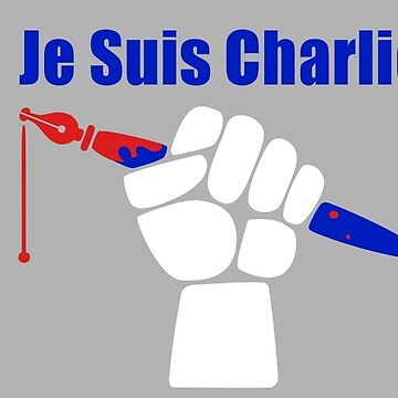 Je Suis Charlie by RichWilkie