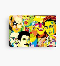 Icon's wall Canvas Print