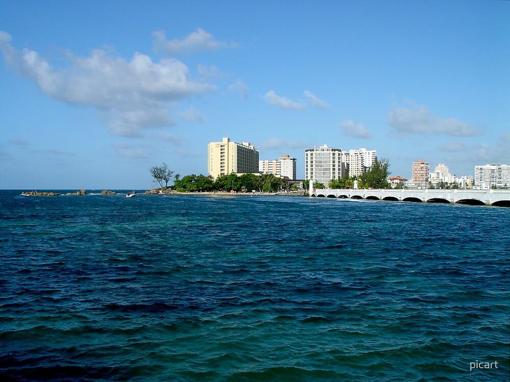Playa Condado by picart